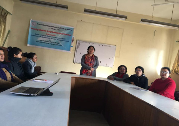 Prof. Dr. S. Bajracharya delivering the speech: IDWGS, February 11, 2017